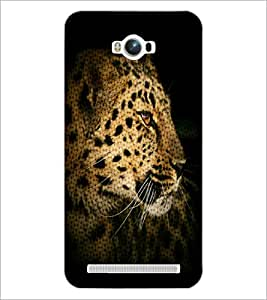 PrintDhaba Leopard D-4371 Back Case Cover for ASUS ZENFONE MAX ZC550KL (Multi-Coloured)