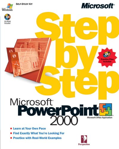 Microsoft® PowerPoint 2000 Step by Step (Step By Step (Microsoft)), Perspection Inc.
