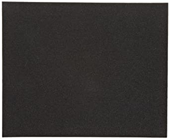 Norton K622 Abrasive Sheet, Cloth Backing, Emery, Grit Extra Coarse  (Pack of 5)