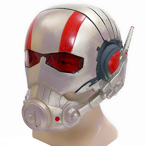 XCOSER Super Ant Helmet Full Head Mask Props for Halloween