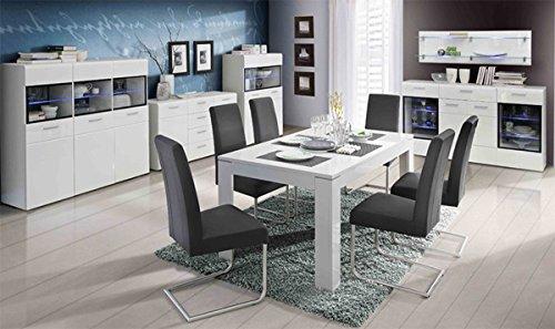 esstisch kulissentisch 62065 wei hochglanz com forafrica. Black Bedroom Furniture Sets. Home Design Ideas