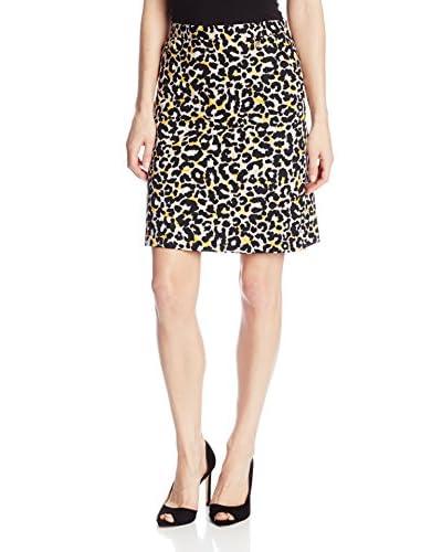Anne Klein Women's Leopard Print Skirt