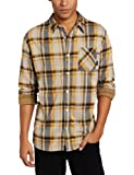 Fourstar Men's Dixon Knit Button Up, Gold, X-Large