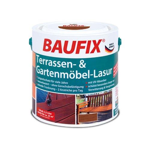 BAUFIX Terassen- & Gartenmöbel-Lasur teak günstig online kaufen