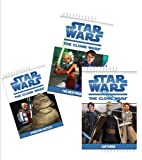 img - for Star Wars Book Set for Boys (4 Books) : The Clone Wars: Operation Huttlet; the New Padawan; Captured; Villain; Heroes (Book Sets for Kids: Star Wars: Level 3 & 4) book / textbook / text book