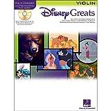 Hal Leonard Disney Greats for Violin Book/CD Instrumental Play-Along