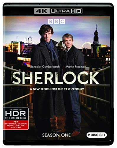 4K Blu-ray : Sherlock: Season One (4K Mastering, 2 Pack)