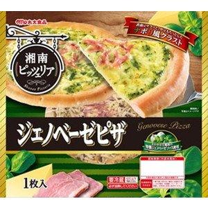 【冷蔵】【1本】湘南ピッツェリア ジェノベーゼピザ 1枚 丸大食品