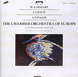 The chamber orchestra of europe bach mozart vivaldi for Chamber orchestra of europe