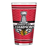 NHL 2015 Stanley Cup Champions Sublimated Pint Glass, Clear, 16 oz