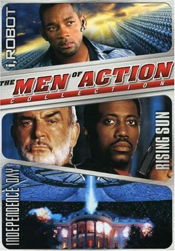 Men of Action Boxset (I, Robot / Rising Sun / Independence Day) (I Robot Independence Day compare prices)