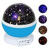 Sternenhimmel Projektor, Ubegood 360 Grad drehbar Star...