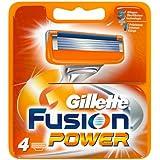 Gillette Fusion Power Klingen, 4 Stück(2014-Edition)