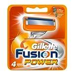 Gillette Fusion Power Klingen 4 St�ck