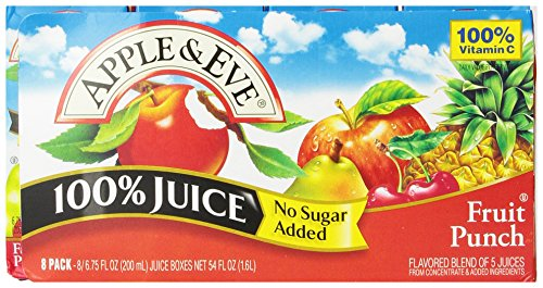 Apple & Eve Fruit Punch, 8 Count (Pack Of 5) front-660679