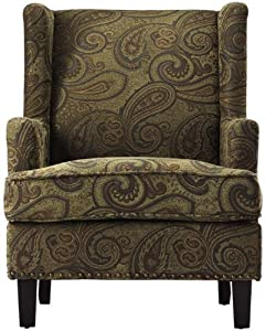 "Vincent Wingback Chair, 40x29x35"", NEPTUNE"
