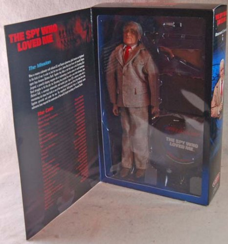 Picture of Sideshow Desmond Llewelyn Q From the Spy Who Loved Me James Bond 007 Figure (B001E8DUX6) (Sideshow Action Figures)