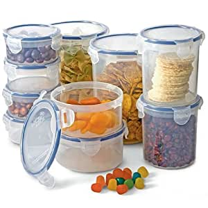 Lock and Lock 20-pc. Round Storage Set