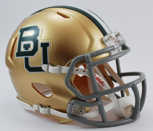 NCAA Baylor Bears Speed Mini Helmet