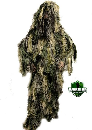 Kids Warrior Ghillie Suit Woodland