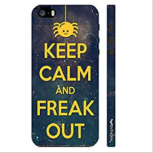 Apple IPhone 5/5S FREAK OUT designer mobile hard shell case by Enthopia