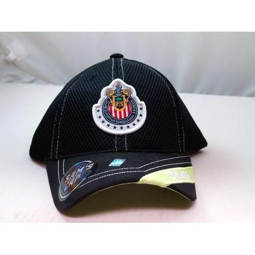CHIVAS de GUADALAJARA OFFICIAL TEAM LOGO CAP / HAT   CV002