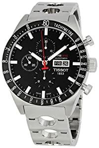 Tissot Men's T0446142105100 T-Sport PRS516 Automatic Black Day Date Dial Watch