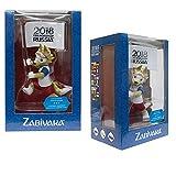 FIFA 2018 Zabivaka - Official Mascot of (With flag, GIFT BOX)