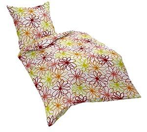 fleuresse 152594 fb 4 seersucker bettw sche 2 teilig rot 135x200cm k che haushalt. Black Bedroom Furniture Sets. Home Design Ideas