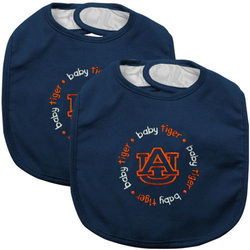 Baby Fanatic Team Color Bibs, University Of Auburn, 2-Count front-992579