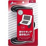 CYBER ・ ラバーコートグリップ (New 3DS LL用) ブラック