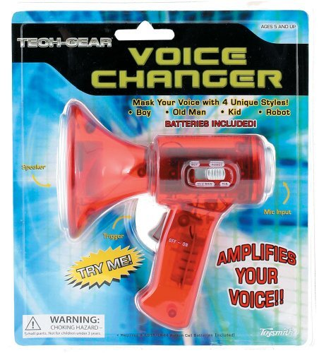 Toysmith 3.5 Small Voice Changer # 1378 - Colors May Vary Toy, Kids, Play, Children
