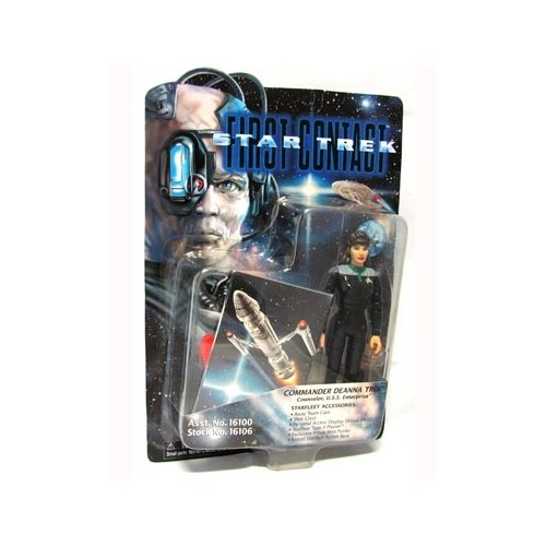 Star Trek First Contact Commander Deanna Troi 6 inch Action Figure - 1