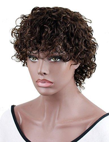 Dreambeauty Eseewigs Human Hair Wigs For Black Women Short Fashion Curly Wigs African Amercian Wigs
