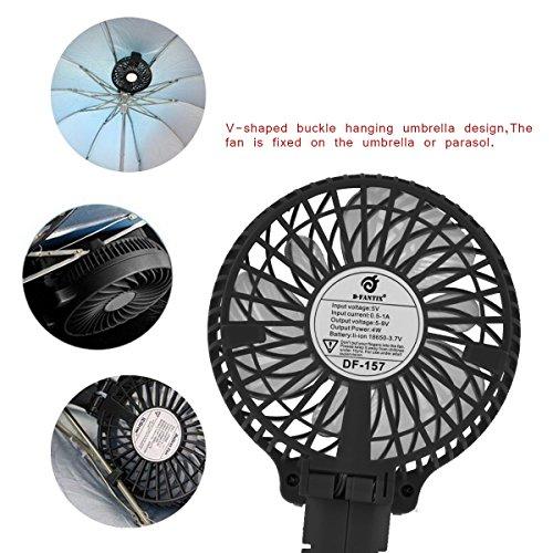 Small Travel Fan : D fantix small portable fan battery operated personal