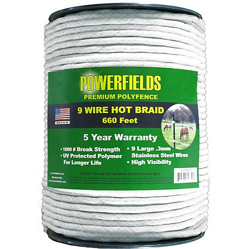 Powerfields EWHBC-660 Hot Braid, 7mm (Hot Fence compare prices)