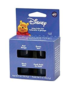 Wilton Winnie the Pooh Icing Color Set