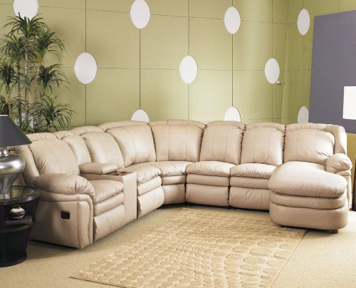 5 Piece Stallion Sectional By Lane 10 5110 15 Leather