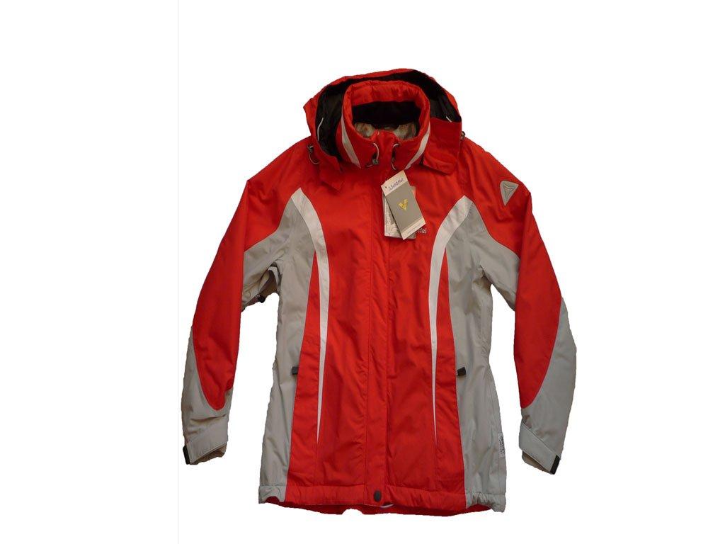 Schöffel FABIOLA Damen -Skijacke (Rot/Weiß/Grau) online bestellen