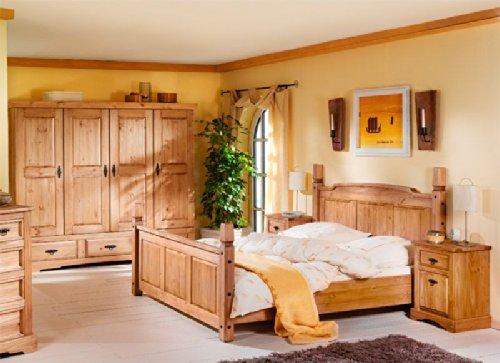 Schlafzimmer komplett massiv Kiefer Mex Pharao24 jetzt bestellen