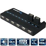 Sabrent USB 2.0 10 Port Ultra High Speed USB Hub With Power Adapter (HB-U10P)