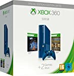 Xbox 360 - 500 GB (blau) inkl. Toy Soldiers (DLC) + Max: The Curse of Brotherhood (DLC)