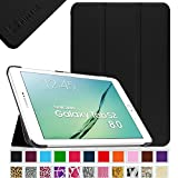 Fintie Samsung Galaxy Tab S2 8.0 Smart Shell Case - Ultra Slim Lightweight Stand Cover with Auto Sleep/Wake Feature for Samsung Galaxy Tab S2 Tablet (8IN Wi-Fi SM-T710 / LTE SM-T715), Black