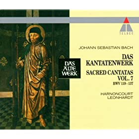 Bach : Sacred Cantatas Vol.8 : BWV 138-140, 143-159, 161-162