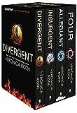 Collection Set: Four, Divergent, Insurgent, Allegiant - 4 Books