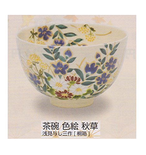 asami-kumishi-three-installment-tea-bowl-overglaze-enamels-akikusa-paulownia-box-g105-tea-utensils-b