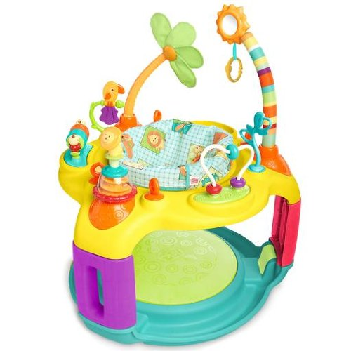 Bright Starts Springin' Safari Bounce-A-Bout Activity Center front-348878