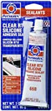 Permatex 80050 Clear RTV Silicone- 3-Ounce