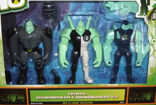 Alfa img showing gt ben 10 diamond head action figure
