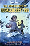 img - for Huck Finn: The Manga Edition book / textbook / text book